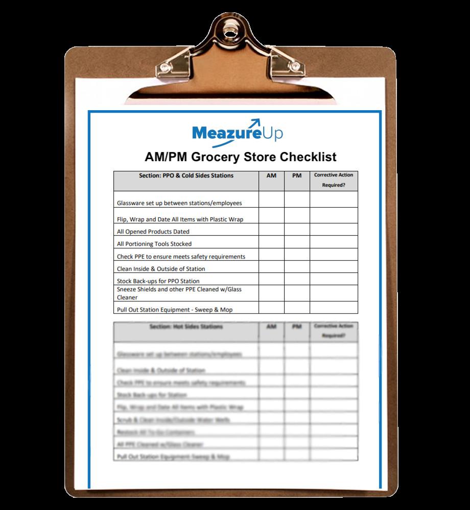 AMPM Grocery Store Checklist