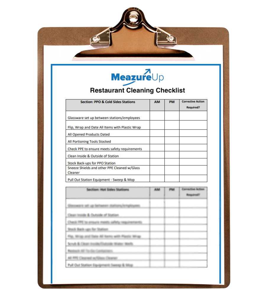 Cleaning Checklist Clipboard PNG